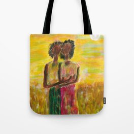 Friends on the field Tote Bag