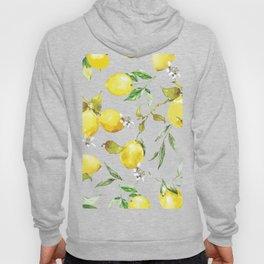 Watercolor lemons 8 Hoody