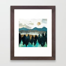 Forest Mist Framed Art Print