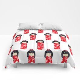 Kokeshi Doll Comforters