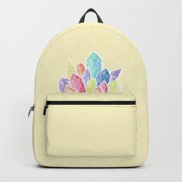 Crystals Yellow Backpack