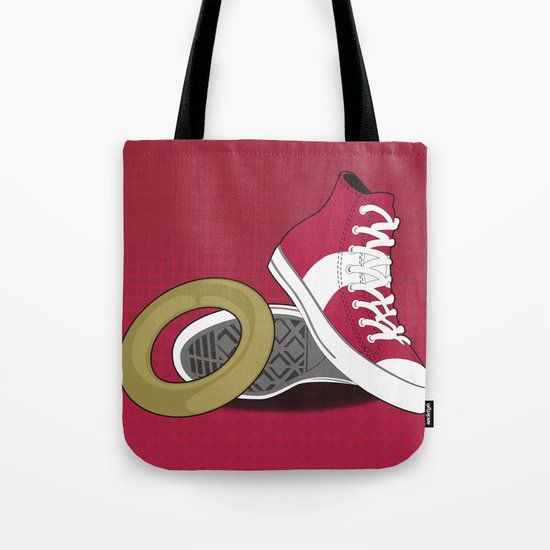 Sonic Converse - Red Tote Bag