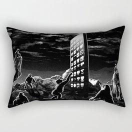 Space Odyssey Evolution Monolith Rectangular Pillow