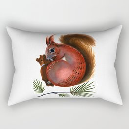 TinTin The Red Squirrel Rectangular Pillow