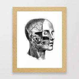 I rip your face Framed Art Print