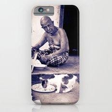 Wat man and his cat iPhone 6s Slim Case