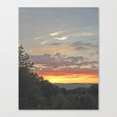 Another Cantonian Sunset Canvas Print