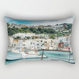 Capri Italy Fine Art Print Rectangular Pillow