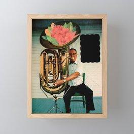 Jazz Man Framed Mini Art Print