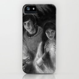 Richard and Kahlan iPhone Case