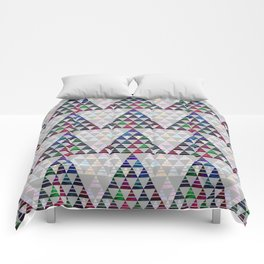 Abstract Pine Tree Pattern 5 Comforters