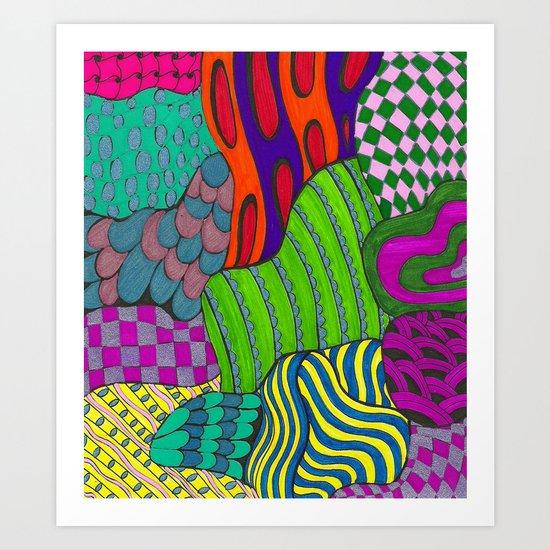 Fun & Funky Art Print