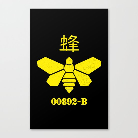 Heisenberg - Breaking Bad 892B Golden Moth Canvas Print