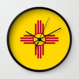 Flag of New Mexico - Authentic High Quality Image Wall Clock