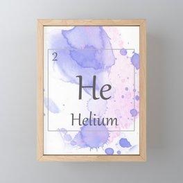 Elementals: He Framed Mini Art Print