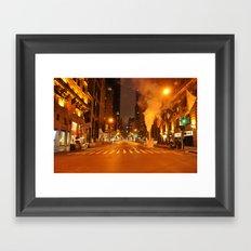 5th Ave 2:00AM Framed Art Print