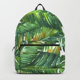 tropical green 2 Backpack