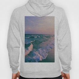 Sunset Crashing Waves Hoody