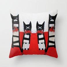 GoodluckGatti Throw Pillow