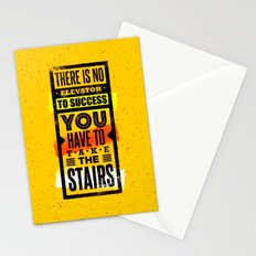 Take the stairs Stationery Cards