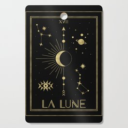 The Moon or La Lune Gold Edition Cutting Board
