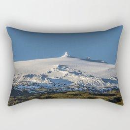 Snaefellsjokull volcano 3 Iceland Rectangular Pillow
