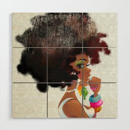 Baby Girl Wood Wall Art