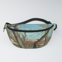 """Camille Pissarro """"Bois de châtaigniers à Louveciennes"""" Fanny Pack"""
