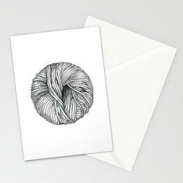 Ball of yarn Stationery Cards