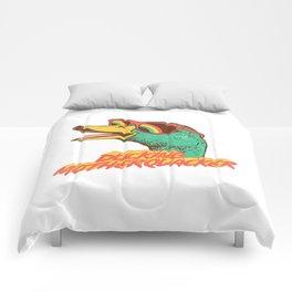 ducking motherquacker Comforters