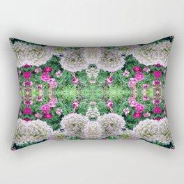 Purple Poofs Rectangular Pillow