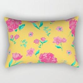 Summer Rose Rectangular Pillow