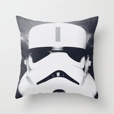 Lone Trooper Throw Pillow