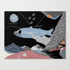 the Fossil Record Canvas Print
