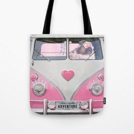Pug Girly Adventure Tote Bag