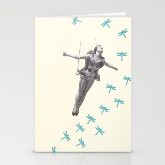 Oh to be a Dragonfly Stationery Cards