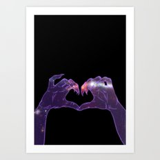 Don't Hate Me Cause You Ain't Me Art Print