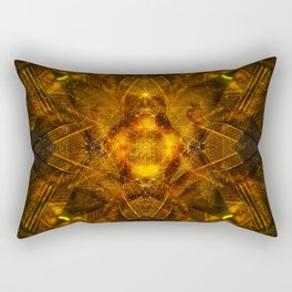 Illusion Of Matter Rectangular Pillow