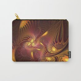 Coming Home, Abstract Fantasy Fractal Art Carry-All Pouch