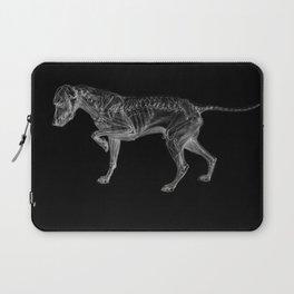 Dog Skeleton Laptop Sleeve