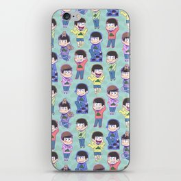 The Sextuplets iPhone Skin