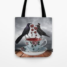 TEA AND A LIL' LOVE Tote Bag