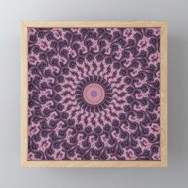 Sunset Kaleidoscope 1 Framed Mini Art Print
