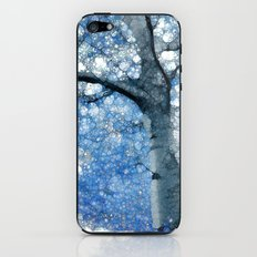 Magic Blue Tree iPhone & iPod Skin