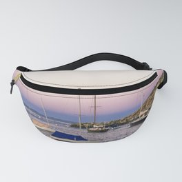 Earth's shadow over the harbor Fanny Pack