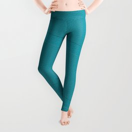 Bondi Blue Blocks Leggings