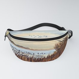 Duck Hunting Season Begins For The Canvasback Fanny Pack