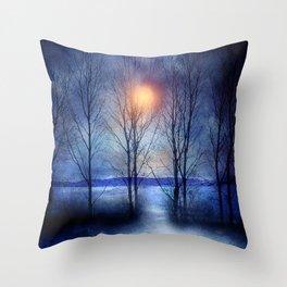Winter sonata Throw Pillow