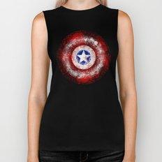 Avengers - Captain America Biker Tank