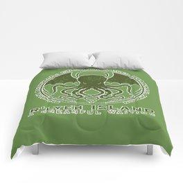 R'lyeh Island Comforters